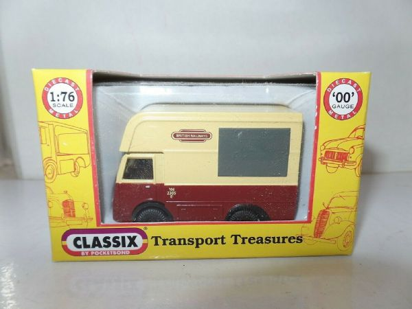 Classix EM76641 1/76 OO Scale NCB Electric High Top Van British Railways 2305 E